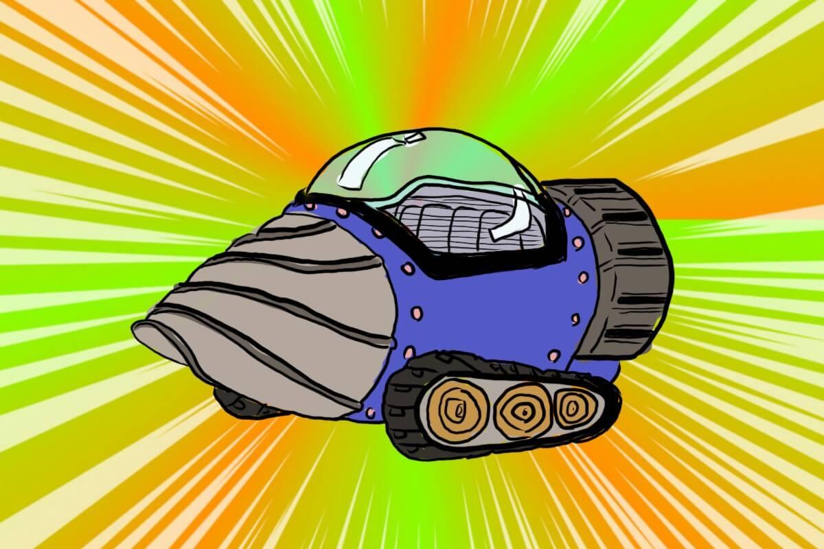 地底探検車