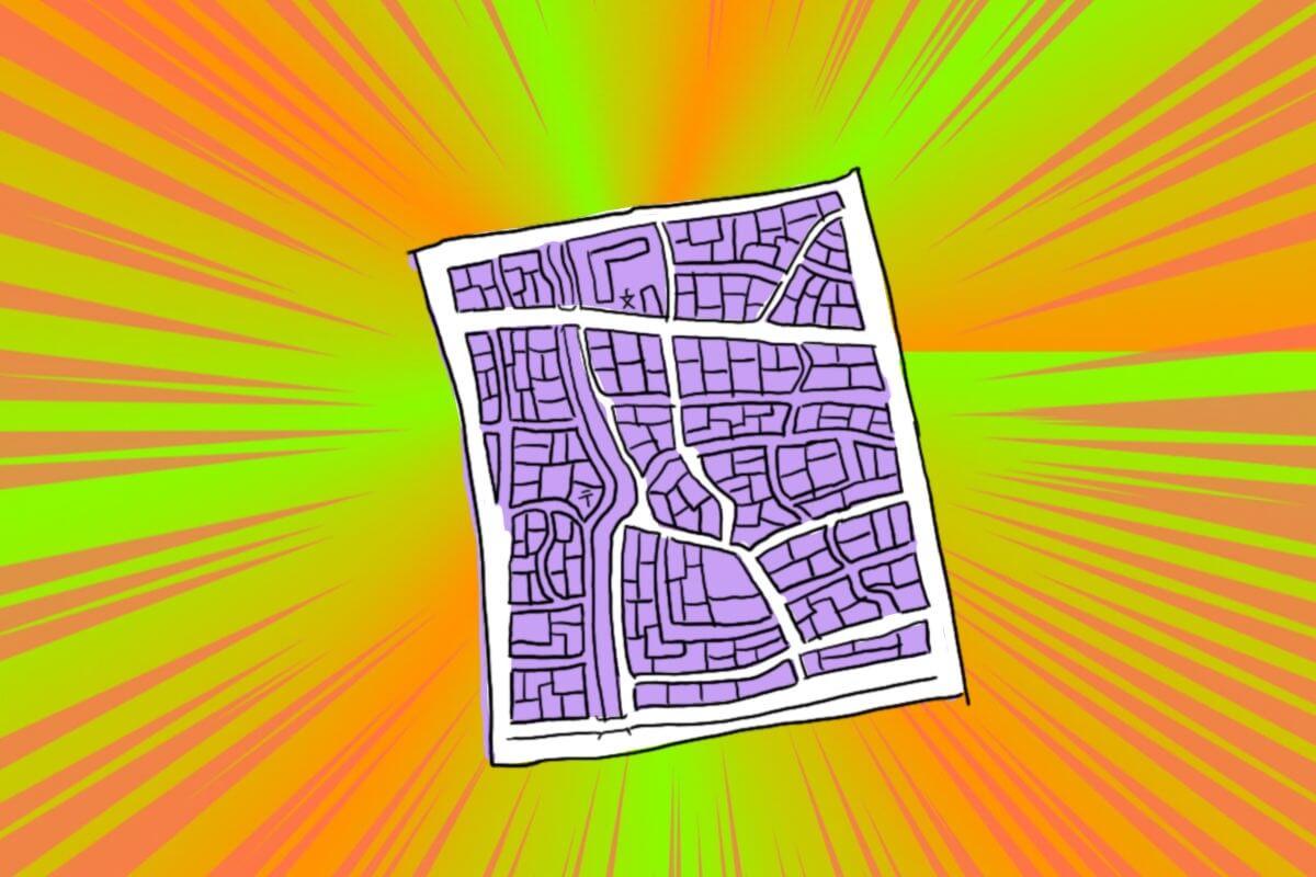 ひっこし地図