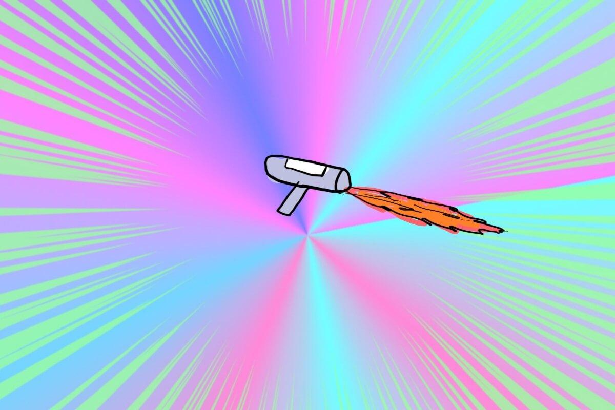 姿勢制御ロケット
