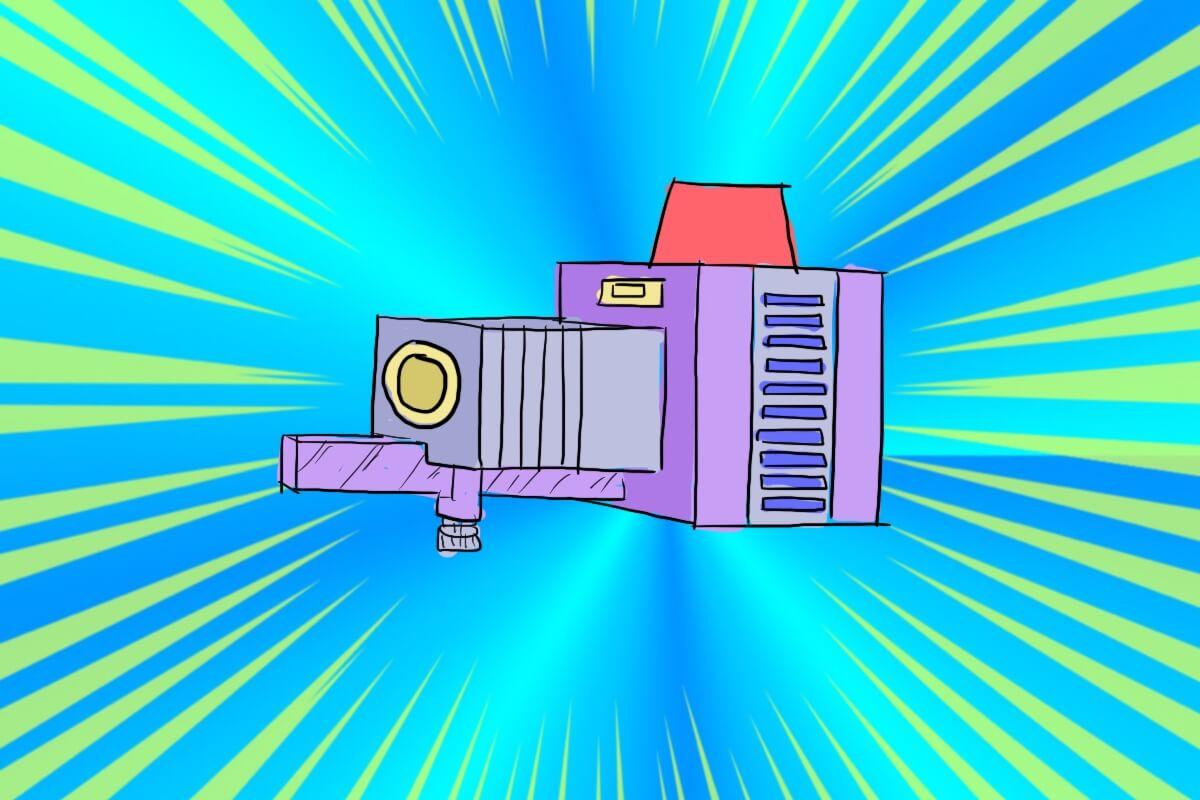 影とりプロジェクター