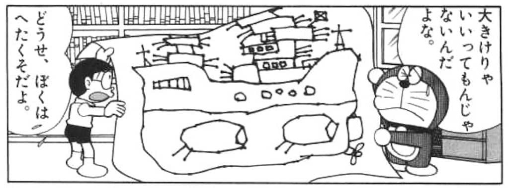 のび太が設計する戦艦