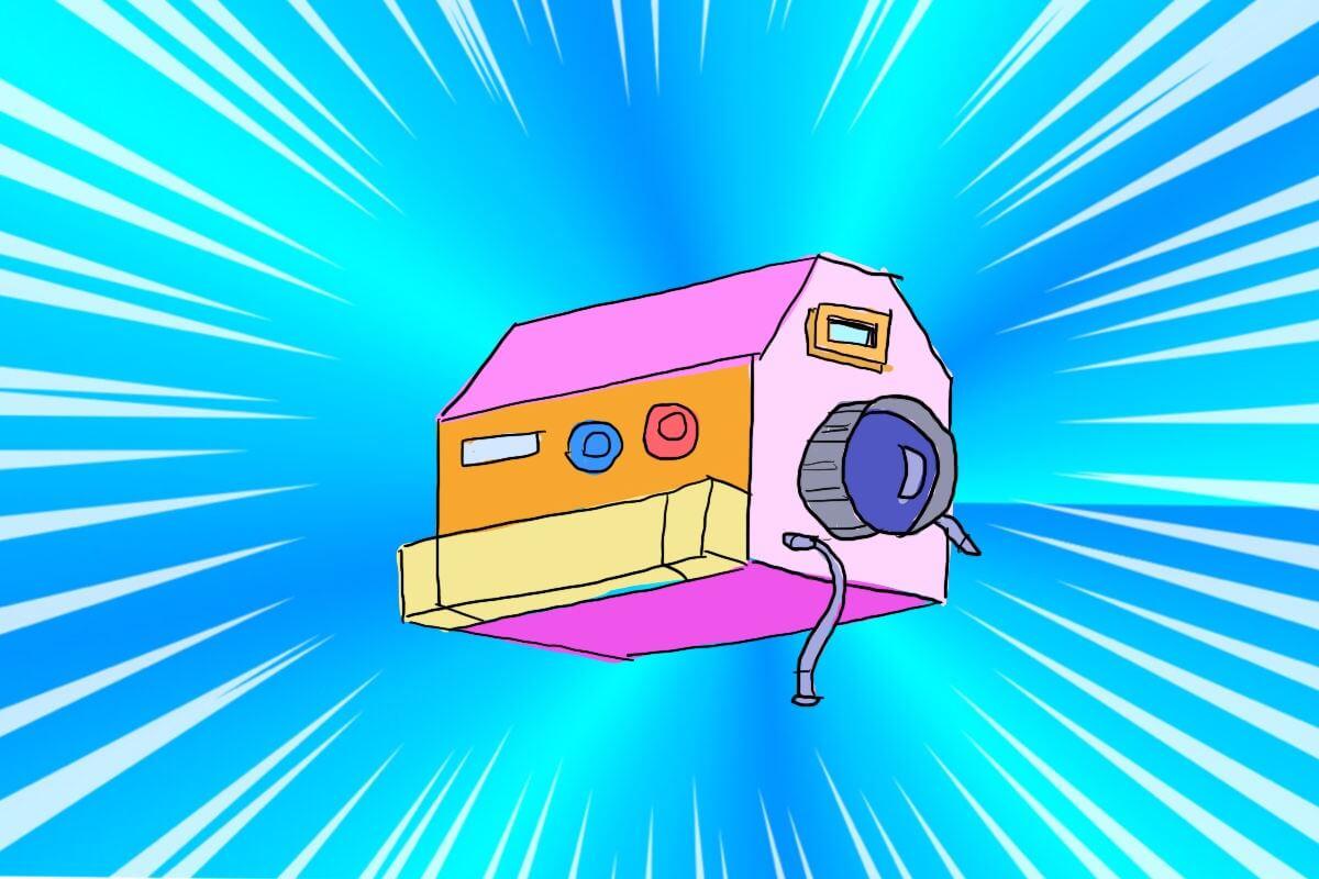 こまどりカメラ映写機