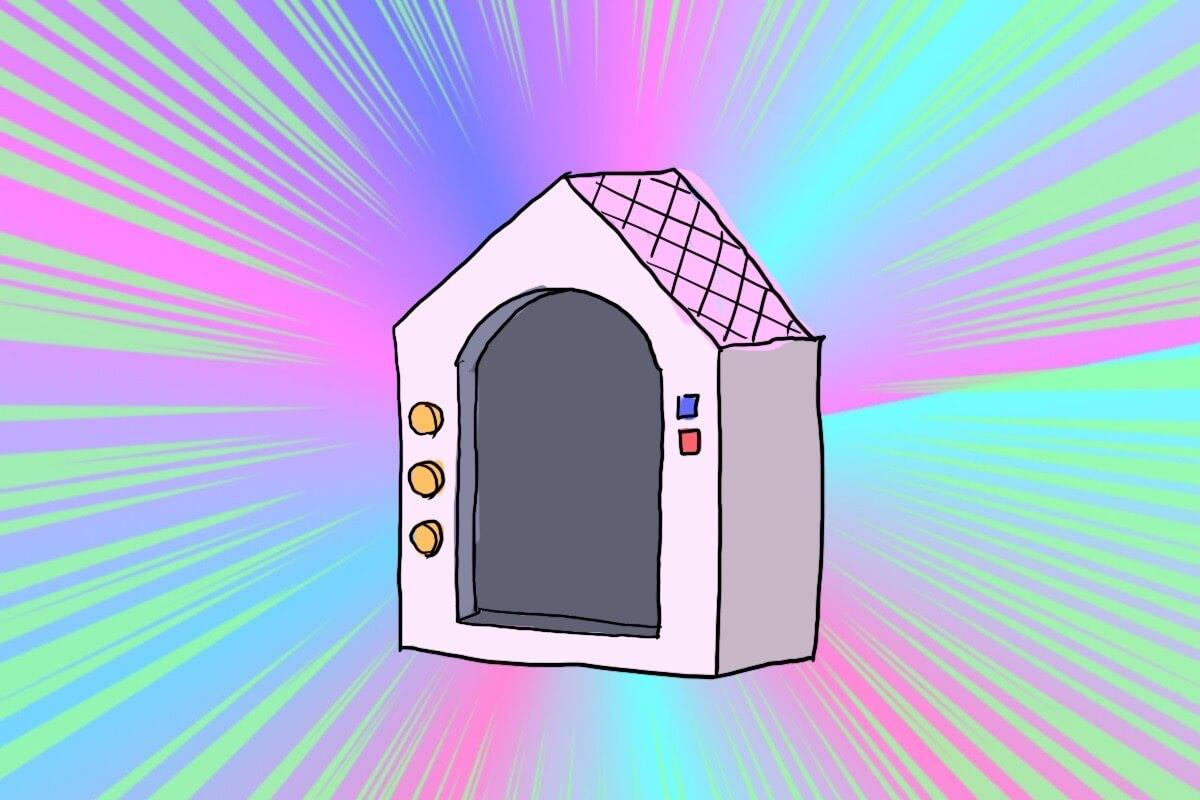 野生ペット小屋