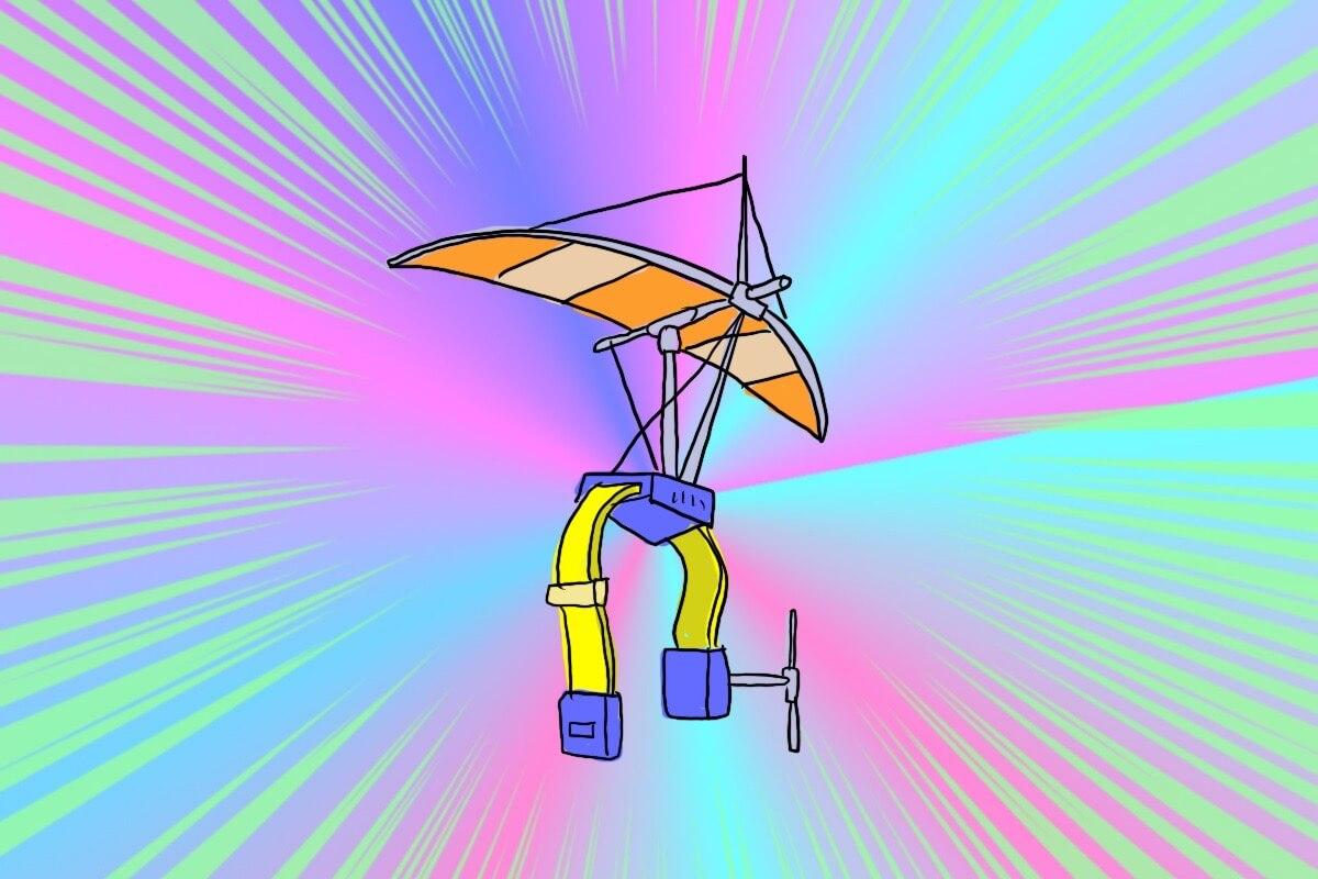 お子さまハンググライダー