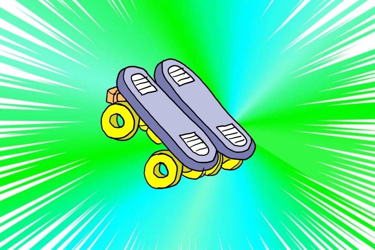 どこでもだれでもローラースケート