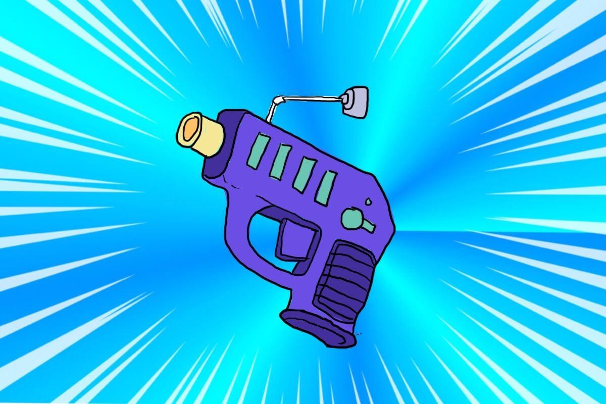 物体変換銃