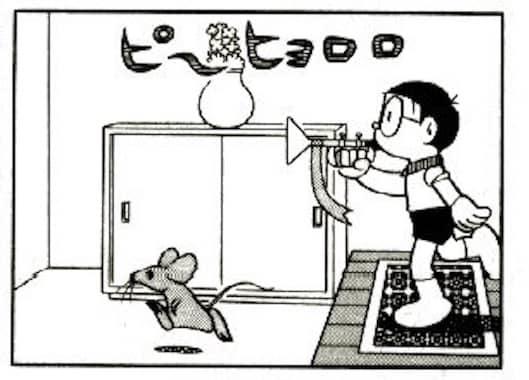 ハメルンチャルメラとネズミ