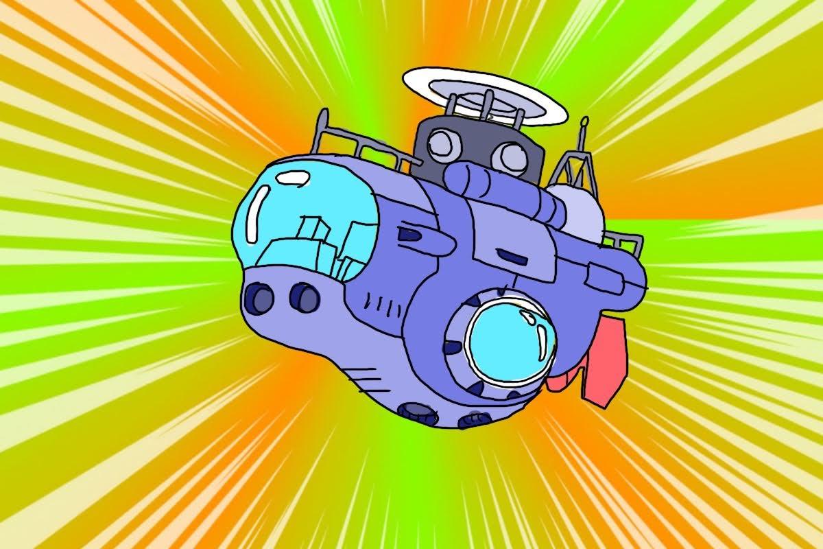 深海潜水艇レジャー用