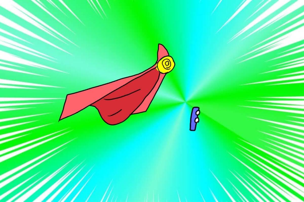 スーパーマンのマント
